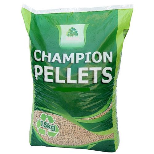 CHAMPION Træpiller