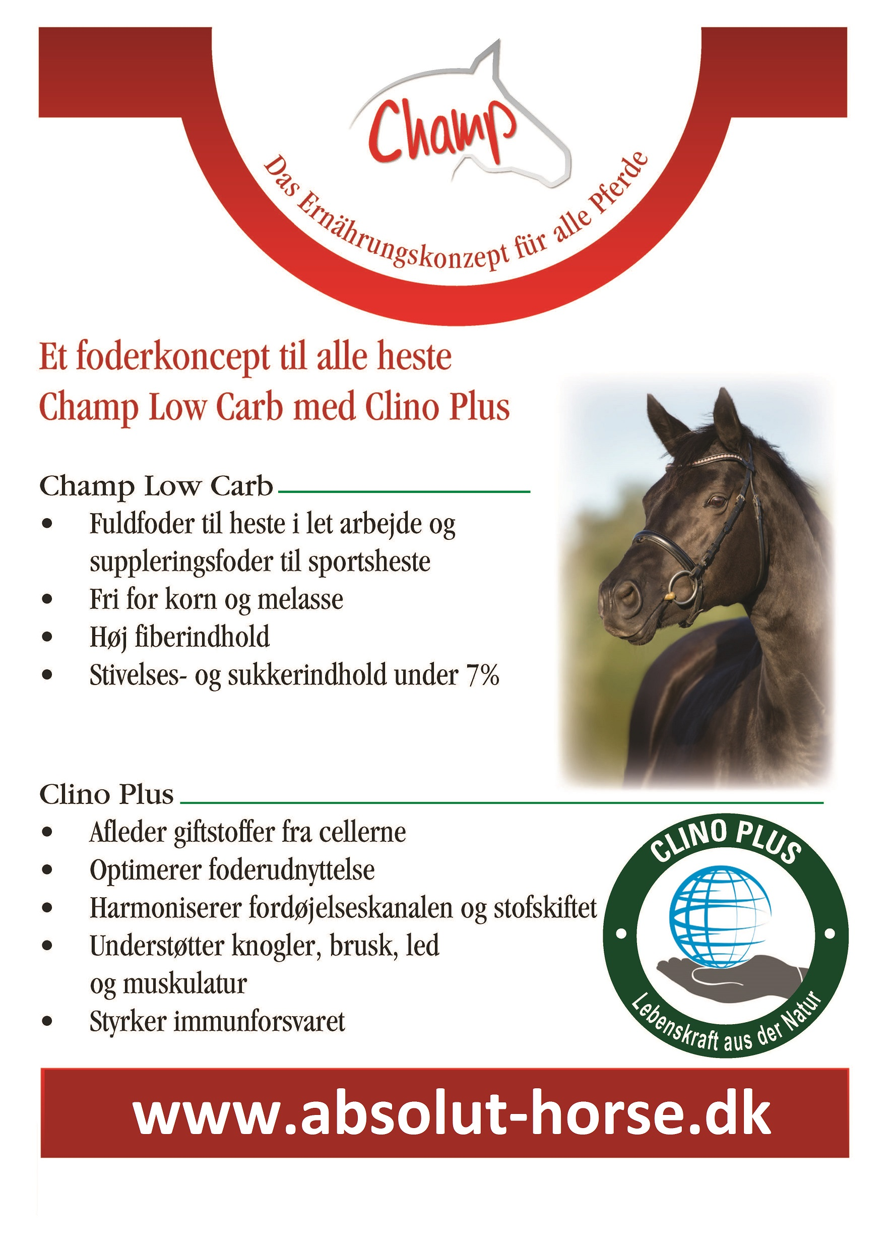 Champ Low Carb med ..... (CLINO PLUS)