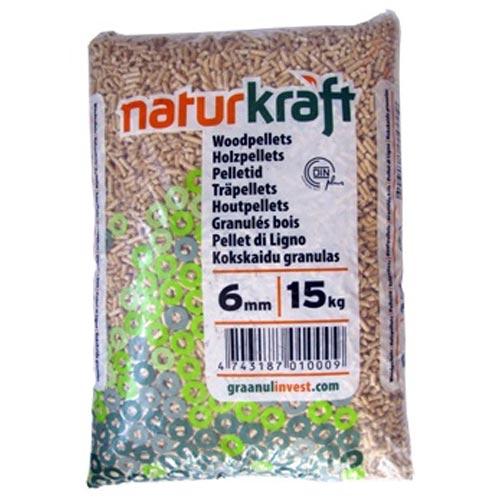 Naturkraft Træpiller
